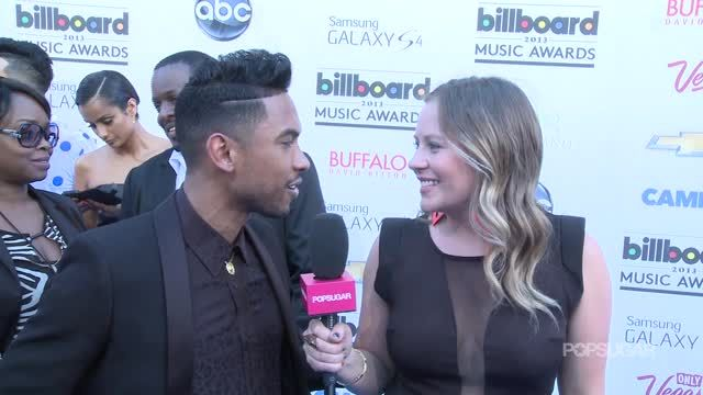 News video: Video: Miguel Talks Mariah Carey, Sexy Logic Behind