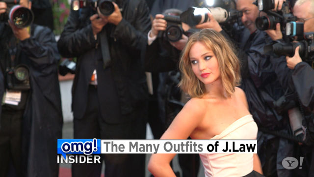 News video: See Jennifer Lawrence Pack Four Wardrobe Changes Into One Day