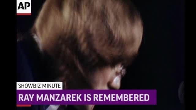 News video: ShowBiz Minute: Manzarek, Keith, Bieber