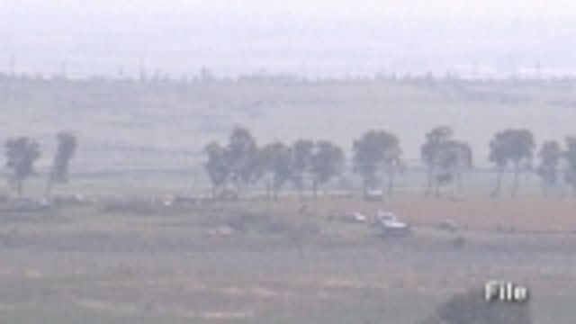 News video: Israel exchanges fire with Syria along border