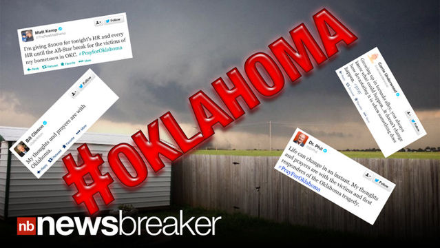 News video: Stars Use Twitter to Show Support for Tornado Victims