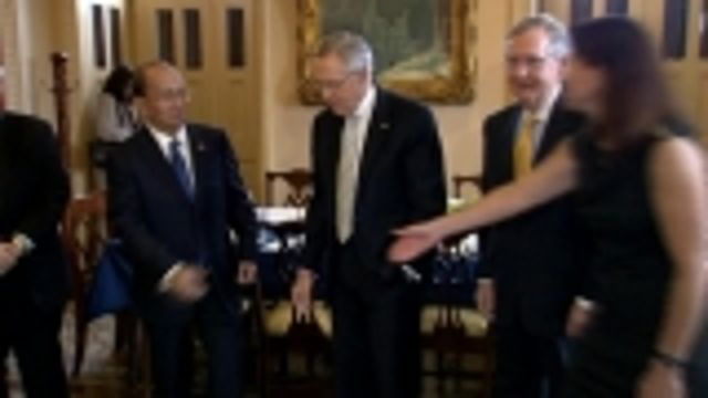 News video: Myanmar President Thein Sein meets with U.S. lawmakers