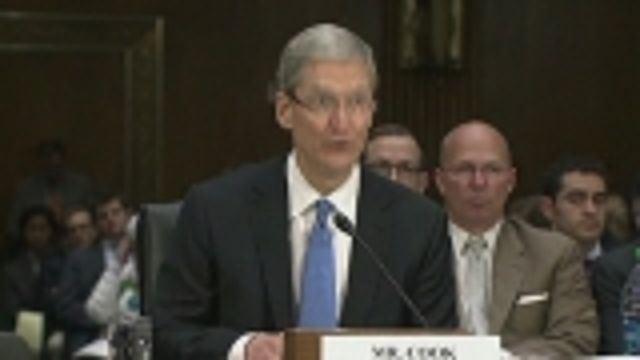 News video: Apple CEO to lawmakers: Fix U.S. tax code!